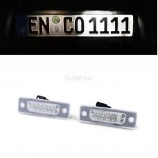 BMW e32/e34 LED numurzīmes apgaismojums