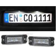 Mercedes LED numurzīmes apgaismojums 4