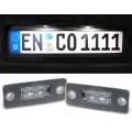 Audi A8 D3 (02-10) LED numurzīmes apgaismojums