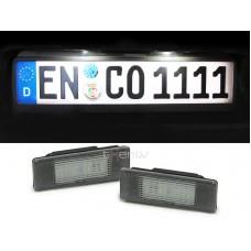 Citroen/Peugeot LED numurzīmes apgaismojums
