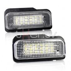 Mercedes LED numurzīmes apgaismojums