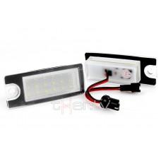 Volvo LED numurzīmes apgaismojums