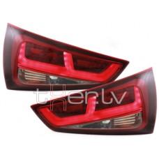 Audi A1 8X (11-) LED aizmugurējie lukturi, red/smoked