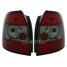 Audi A4 B6 Avant (01-04) LED aizmugurējie lukturi, red/smoked
