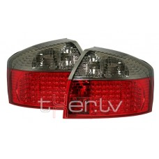 Audi A4 B6 (01-04) LED aizmugurējie lukturi, red/smoked 2