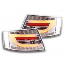 Audi A6 C6 (04-08) LED aizmugurējie lukturi, crystal