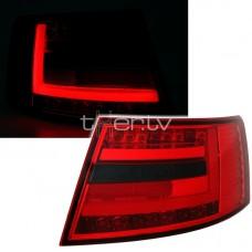 Audi A6 C6 (04-08) LED aizmugurējie lukturi, red/smoked 3