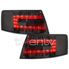 Audi A6 C6 (04-08) LED aizmugurējie lukturi, smoked 2