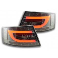 Audi A6 C6 (04-08) LED aizmugurējie lukturi, smoked