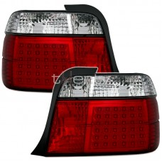 BMW e36 Compact (94-00) LED red/crystal