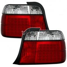 BMW e36 Compact (94-00) LED sarkani/hromēti