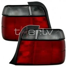 BMW e36 Compact (94-00) red/smoked