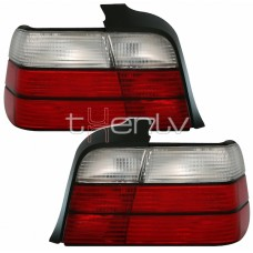 BMW e36 Sedan (91-98) red/white