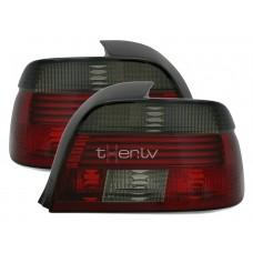 BMW e39 (00-03) aizmugurejie lukturi, red/smoked
