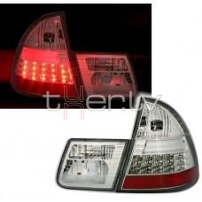 BMW e46 Touring (99-05) LED aizmugurejie lukturi, crystal