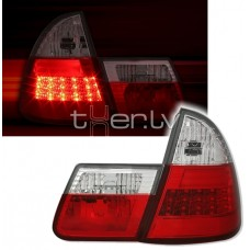 BMW e46 Touring (99-05) LED aizmugurejie lukturi, red/crystal