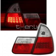 BMW e46 Touring (99-05) LED aizmugurejie lukturi, red/crystal