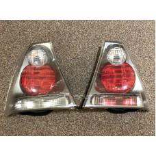 BMW e46 Compact (01-05) aizmugurejie lukturi, Magneti Marelli balts pagriezienu rādītājs, L+R