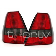 BMW e46 Compact (01-05) aizmugurejie lukturi, sarkani/tonēti