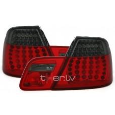 BMW e46 Coupe (99-03) LED aizmugurejie lukturi, dinamiskie pagriezienu rādītāji, sarkani/tonēti
