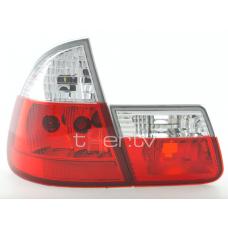 BMW e46 Touring (99-05) aizmugurejie lukturi, sarkani/hromēti