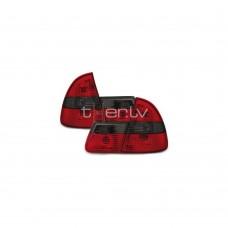 BMW e46 Touring (99-05) aizmugurejie lukturi, sarkani/tonēti 2
