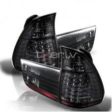 BMW X5 e53 (99-06) LED aizmugurejie lukturi, smoked 2