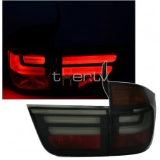 BMW X5 e70 (07-10) LED aizmugurejie lukturi, tonēti