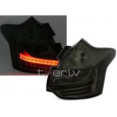 Ford Focus MK3 (11-14) aizmugurējie lukturi, LED smoked