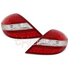 Mercedes SLK r171 (03-10) LED aizmugurējie lukturi, red/crystal