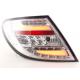 Mercedes w204 (11-) LED aizmugurējie lukturi, crystal