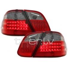 Mercedes w208 (97-02) LED aizmugurējie lukturi, red/smoked