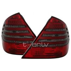 Mercedes w211 (02-06) LED aizmugurējie lukturi, red/smoked