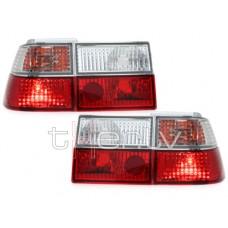 VW Corrado (88-95) aizmugurējie lukturi, red/crystal