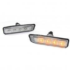 BMW LED pagriezieni spārnos, crystal