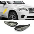 BMW e70, e71, f25, f26 LED pagriezieni spārnos, light/smoked
