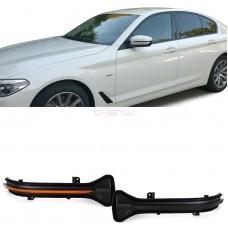 BMW dinamiskie pagriezienu rādītāji spoguļos LED, smoked 4