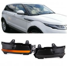 Land Rover LED dinamiskie pagriezienu rādītāji spoguļos, smoked