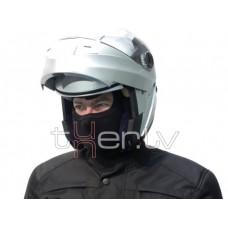 Motociklista sejas maska