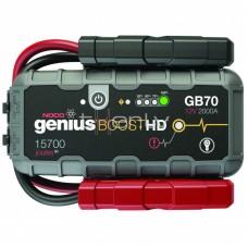 Auto akumulatora starteris, būsteris NOCO GENIUS BOOST HD GB70 2000A